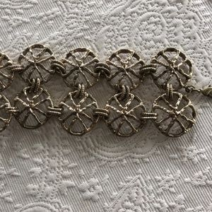 Gold Rhodium overlay  Shell Hand Picked Bracelet